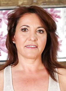 sex images Good-looking milf Red Mary getting off, milf , granny