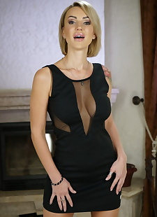 russian sex images Russian MILF Elen Million gets a glass, milf , blonde