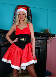 sex images Evil santa showing her tits - part 2867, milf , stockings
