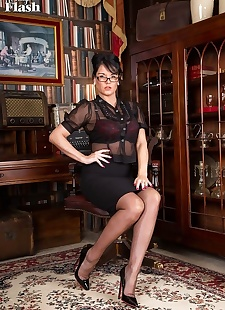sex images Raven lee likes to crack the whip at, Raven Lee , milf , stockings