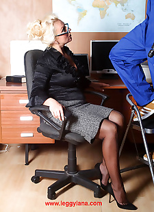 sex images Office slut lana coxy sucking big dick, Leggy Lana , blowjob , big tits  big-tits