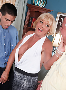 sex images Granny wife cheating in cuckold sex, Scarlet Andrews , blowjob , hardcore  cuckold